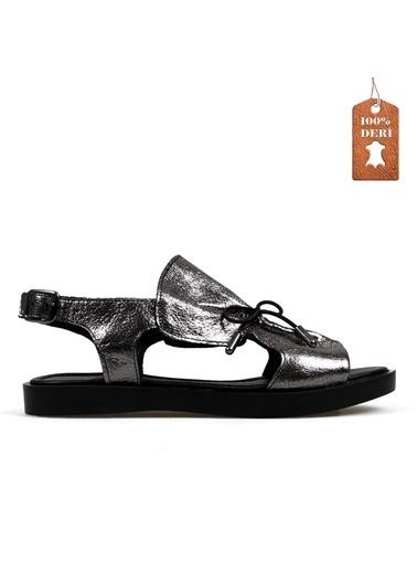 Hammer Jack Platin Kadın Terlik / Sandalet 542 592-Z Gri